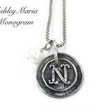 Monogram Necklaces Monogram Necklaces Archives Ashley Maria Incorporated