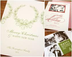 personalized custom christmas cards christmas lights decoration
