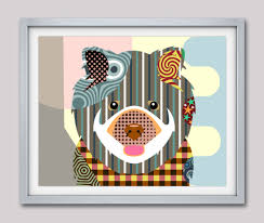 dog wall art chow chow dog art print poster chow chow gift chow chow chinese