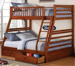 fabulous chocolate twin over queen bunk bed with stairs kids