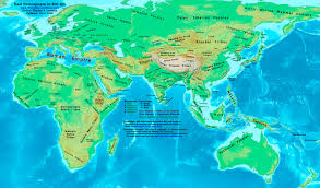 Most Accurate World Map by World History Maps By Thomas Lessman