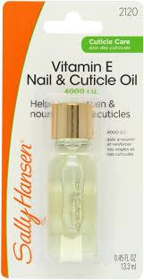 sally hansen nail u0026 cuticle oil vitamin e 4000 iu 0 45 fl oz