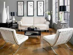 White Chairs For Living Room Black And White Chairs Living Room Adorable