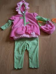 halloween 3 6 months infant size 3 6 months baby grand daisy flower pink green