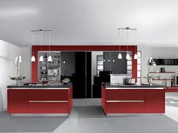 chambre rouge et noir indogate com cuisine avec frigo noir