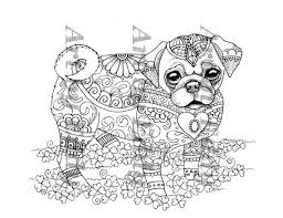 44 dogs images coloring books drawings