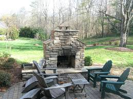 backyard brick fireplace plans outdoor ideas construction pictures