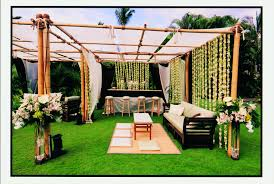 creative wedding outdoor decoration ideas home design planning