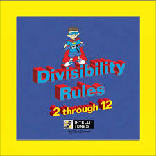 intelli tunes divisibility rules 2 12 cd songs for teaching