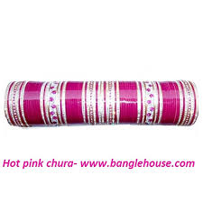punjabi wedding chura hot pink wedding chura for bridal bridal chura online indian
