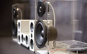 Beautiful Speakers by Oneclassic U0027s Transparent And Wireless Speakers Stand Out Insidehook