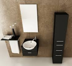 bathroom small bathroom vanity cabinets with tall wall mirror and
