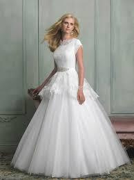 popular wedding dress modest short sleeves buy cheap wedding dress