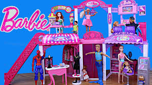 barbie dream house black friday deals barbie mall disneycartoys frozen princess and mike the merman at