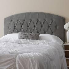 humble haute halifax velvet grey diamond tufted arch top