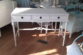 distressed white desk freedom to