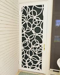 laser cut door by security doors wrought iron security