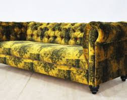 Handmade Chesterfield Sofas Uk Chesterfield Sofa Etsy