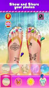 toe nail salon makeover kids android apps on google play