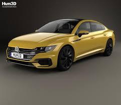 volkswagen arteon r line volkswagen arteon r line 2017 3d model hum3d