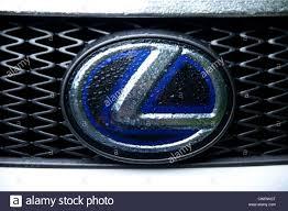 lexus emblem lexus logo stock photos lexus logo stock images alamy