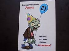 handmade personalised male birthday card husband son grandson 20th