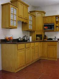 Natural Oak Kitchen Cabinets  Solid All Wood Kitchen Cabinetry - Hardwood kitchen cabinets