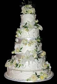 prix d un mariage mariage prix gâteau 5 étages couche gâteau de mariage blanc