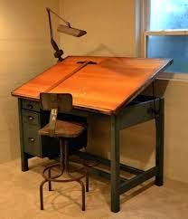 Drafting Table Mayline Vintage Drafting Desk Vintage Drafting Table Adjustable Work