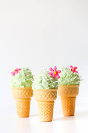ice cream emoji movie cactus ice cream cones studio diy
