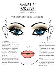 aqua liner face chart 2 blank face charts for makeup