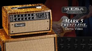 Mesa Boogie Mark V Cabinet Mesa Boogie Mark Five 25 Official Demo Youtube