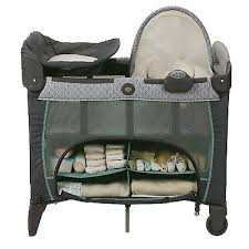 Graco Pack And Play With Bassinet And Changing Table Graco Pack N Play Napper Station Changing Table Bassinet Deluxe