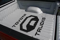 toyota trucks emblem toyota tundra color liner with emblem