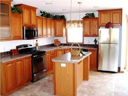 Natural Wood Kitchen Cabinets by Kitchen Natural Wood Kitchen Cabinet With Stainless Steel