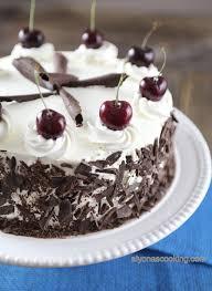 black forest cake recipe chocolate cherry cake alyona u0027s