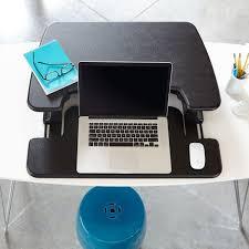 Standing Desk For Laptop by Laptop 30 Adjustable Standing Desks Varidesk