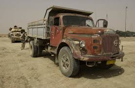 used volvo trucks file volvo truck in iraq jpeg wikimedia commons