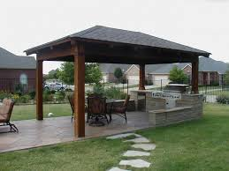 Patio Grills Built In Exciting Outdoor Kitchen With Fireplace Featuring Stone Outdoor