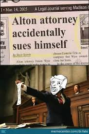 Meme Lawyer - jeogo95 as a lawyer meme by pokerbot memedroid