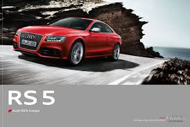 lexus uk brochures audi rs5 2010 the brochure shots leak by car magazine