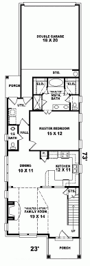 narrow lot house plans with rear garage apartments narrow lot house plans best narrow house plans ideas