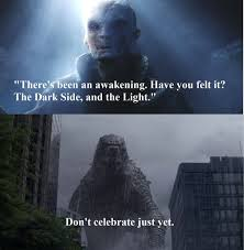 Godzilla Meme - godzilla vs supreme leader snoke by weedofcrime on deviantart