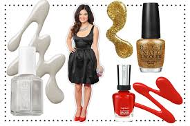 what polish colors to wear with your prom dress teen vogue