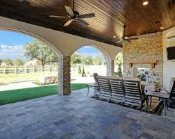Houston Patio Builders Outdoor Living Spaces For Houston Custom Homes Morning Star Builders