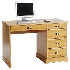 Schreibtischplatte Mit Schubladen Schreibtisch Bürotisch Colette Weiß Landhausstil Amazon De