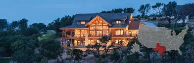 texas log and timber frame homes by precisioncraft