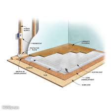 Heated Floor Under Laminate 16 Ways To Warm Up A Cold Room Family Handyman