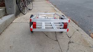 boston biker blog archive how to build a 1000 bicycle trailer