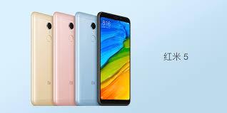 Redmi 5 Plus Xiaomi Redmi 5 And 5 Plus Come With 18 9 Displays Big Batteries
